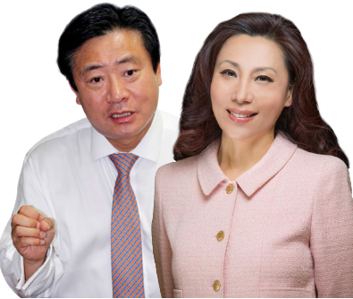 ▲ 민승기 전 뉴욕한인회장(왼쪽), 김민선 뉴욕한인회장