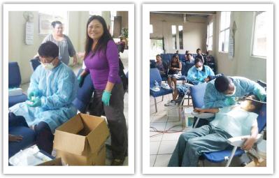 ▲ 멕시코 고아원 무료진료