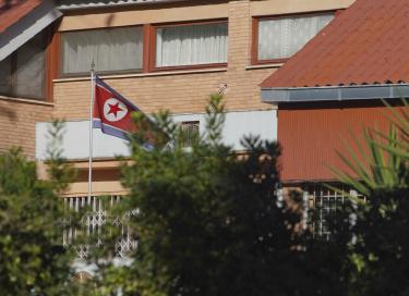 ▲로마에 위치한 북한 대사관 저