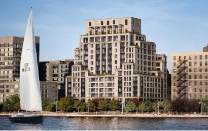 ▲ 지난해 12월 완공된 맨해튼 허드슨강변의 초호화콘도 베스트리트라이베카