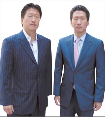 ▲ 황성철변호사[형, 왼쪽]와 황준철 변호사[동생, 오른쪽]