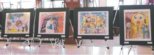 ▲ LA한국교육원은 매년 전국적으로 「미주한인의 날」 기념 미술대회를 개최하고 있다.