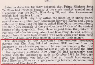 ▲ 1978년 연방하원이 발간한 프레이저보고서 - 공화당이 일본기업들로 부터 2천만달러이상의 정치자금을 받았다고 기록돼 있다.