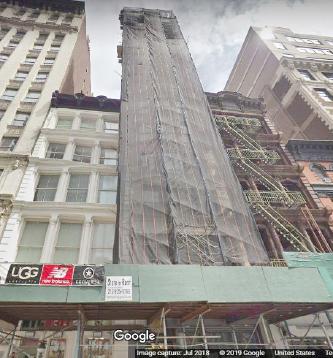 ▲ 뉴욕 맨해튼 워싱턴스퀘어인근 736 브로드웨이의 김종훈 전 유디치과대표 소유건물[가진출처 구글]