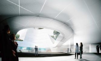 ▲한미박물관은 한국 자연경관과 건축미를 구현한다.