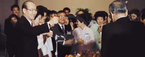▲ 대통령 외국 순방 중 동포간담회는 많은 화제를 뿌린다. 사진은 1981년 당시 전두환 대통령 LA 방문 모습