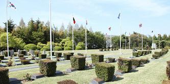 ▲ 부산 유엔 기념 공원묘지