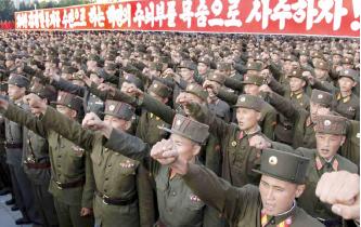 ▲ 북한의 남성은 10년 군복무가 의무이다.