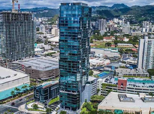 ▲ 조양래회장이 750만달러에 구입한 하와이 호놀룰루 아나하콘도전경