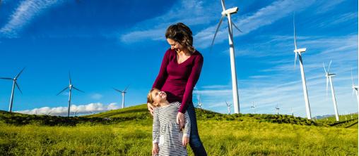▲ SCE는 2045년까지 캘리포니아를 청정에너지 지역으로 추진하고 있다.