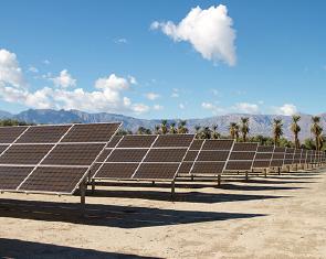 ▲ 태양열 발전이 날로 증가하고 있다.
