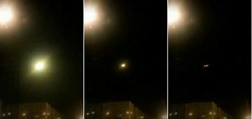 ▲ 뉴욕타임즈가 공개한 미사일 공격 당시 영상. 미사일이 여객기로 접근해 폭발했다.