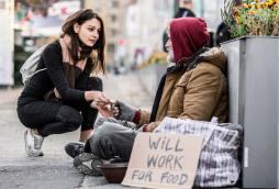 ▲ 노숙자에게도 일반 거주가 허용되고 있다.