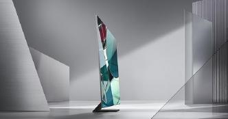 ▲ 올해 삼성의 새로운 TV는 베젤을 없애 눈길을 모았다.