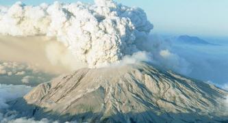 ▲ 백두산이 사화산이 아닌 활화산으로 폭발 가능성이 있다.