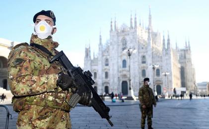 ▲ 이탈리아는 전국 이동 금지령이 선포됐다.