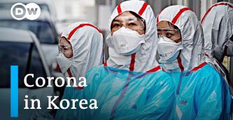 ▲ 한국의 코로나19 방역요원들이 검역에 나서고 있다.