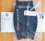 ▲ 웨슨 시의원의 마스크