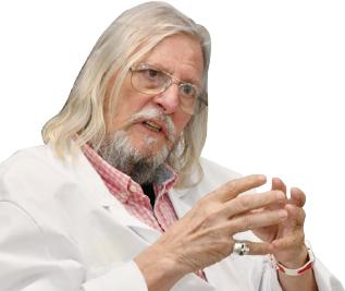 ▲ 프랑스의 세계적 감염전염병의 대가로 알려진 디디에 라울 박사