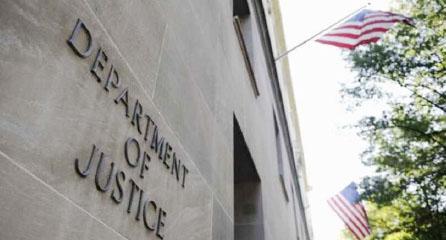 ▲ 북한인 28명을 기소한 워싱턴 DC 소재 미연방법무부 청사