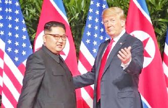 ▲ 볼턴 회고록에서 트럼프 대통령은 김정은의 술수에 말렸다고 주장했다.