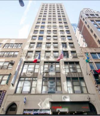 ▲ 홈리스호텔로 지정된 6 웨스트 32스트릿 더뉴욕맨해튼호텔 - 호텔1층에는 파리바게트 코라이타운매장이 자리하고 있다.