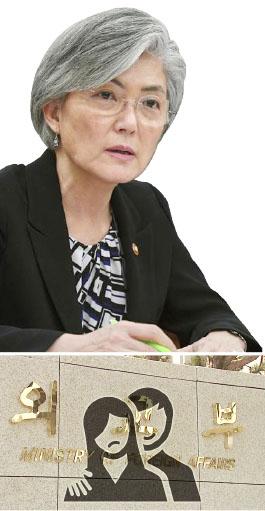 ▲ 강경화 장관은 취임초 성범죄 단속을 외쳤으나 오히려 증가해 망신살을 당하고 있다.