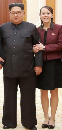 ▲ 32세의 김여정이 김정은을 대신하는 권력에 올랐다고 보도했다.