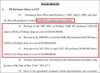 ▲ 포스코에너지는 지난 9월 14일 뉴욕남부연방법원에 제출한 소송장에서 2008년부터 2012년까지 퓨얼셀에 8412만여달러를 투자, 주식 3078만여주를 매입했다고 밝혔다.