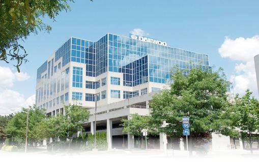 ▲ AIM 투자운용이 매입한 뉴저지주 릿지필드팍 85 챌린저로드 건물, 이 건물은 대우인터내셔널의 사옥으로 사용되다 지난 2010년부터는 삼성전자 미주본사가 입주해 있다.