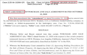 ▲ 가주마켓과 제이크 샤프 캐피탈은 클로징예정일인 지난 13일 수정매매계약서를 체결했다.