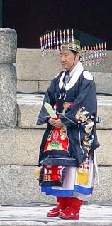 ▲  2005년 황세손에 책봉된 이원씨