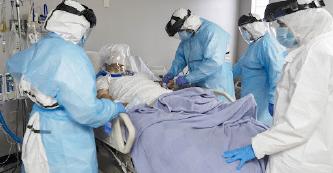 ▲ 최근 코로나 대확산으로 병실이 부족하게 되는 비상사태가 예견된다.