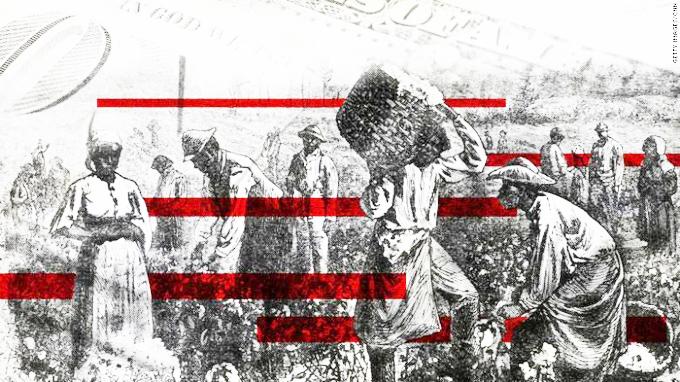 ▲  미국 노예제도