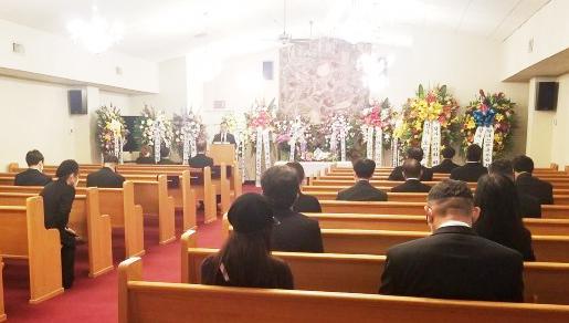가짜 장례식-온라인