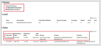 ▲ EIDL사기대출 등 연방정부상대 절도혐의및 송금사기등의 혐의로 기소된 미셀곽은 지난 2020년 6월하순 2건의 EIDL 사기대출을 받은 직후인 6월 30일 635 broadmoor drive Braselton ga 30517 주택을 24만 3천여 달러에 매입했다.