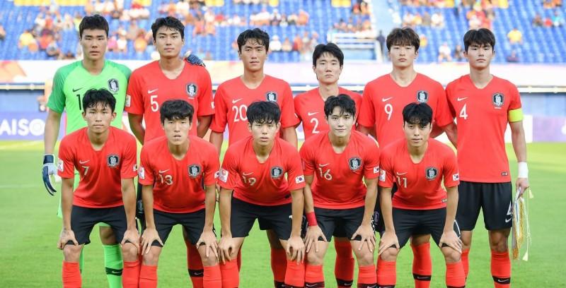 ▲ 한국 축구 올림픽 국가 대표팀