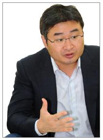 ▲ 이두철 삼창기업 창업자의 외동아들인 이정훈 사장