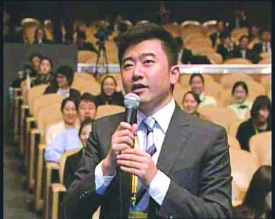 ▲ 2010년 중국기자 루이청강