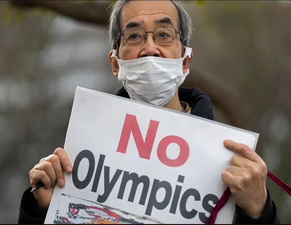 ▲ 일본 국민 70%가 올림픽 개최를 반대하고 있다.