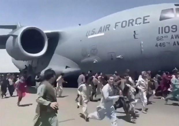 아프간 주민의 탈출